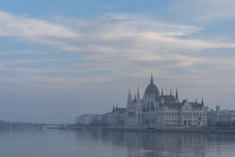Hungarian Parliament - Budapest Jan 2018