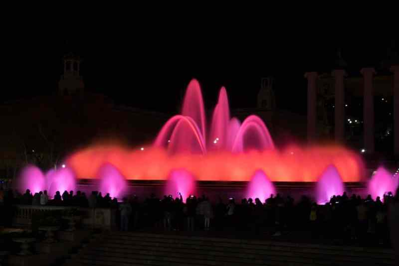 Magic Fountain of Montjuïc, Dec 2017