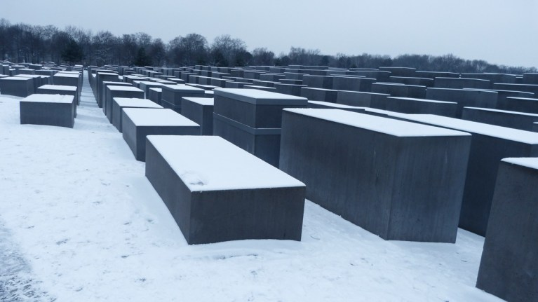 Memorial Murdered Jews - Berlin 2017
