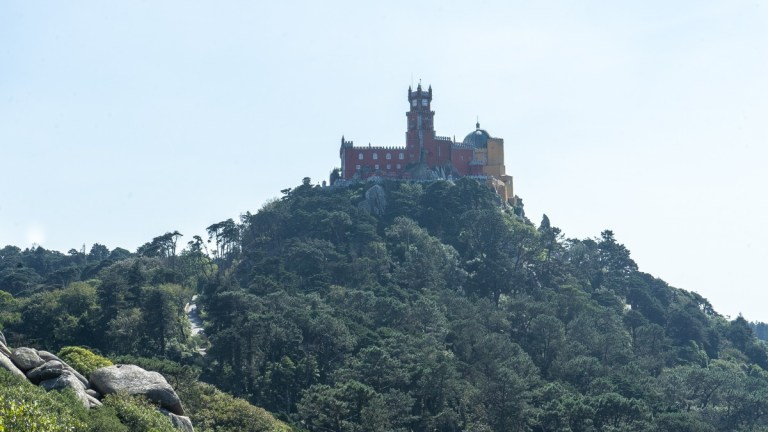 View of Pena Palace