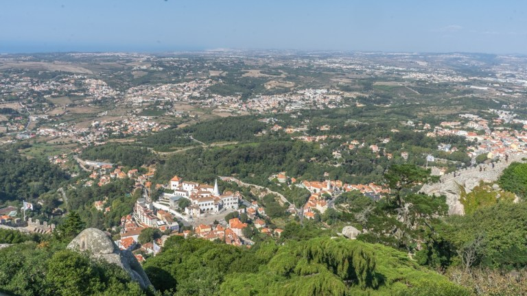 National Palace Sintra - from Moorish Castle