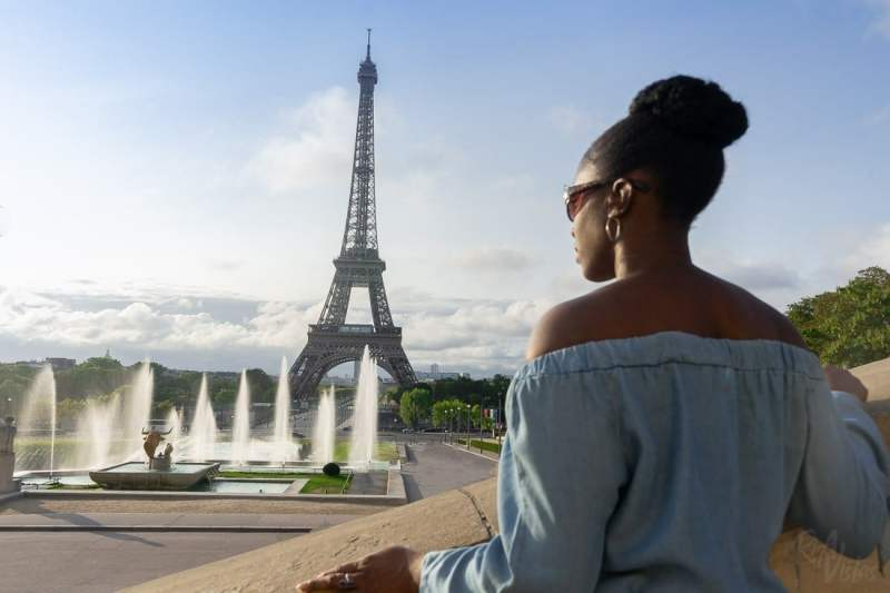 Me at the Eiffel Tower