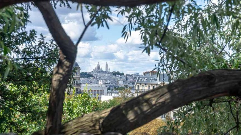 Sacre Coeur from Temple de la Sibylle