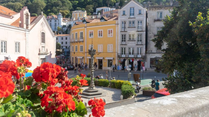 Sintra Town - from the National Palace