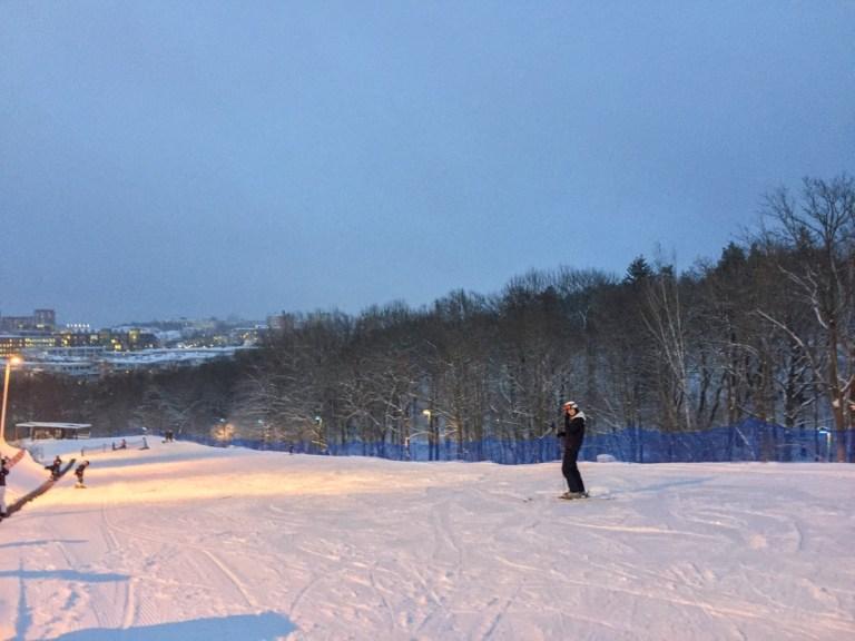 Hammarbybacken - beginners slope