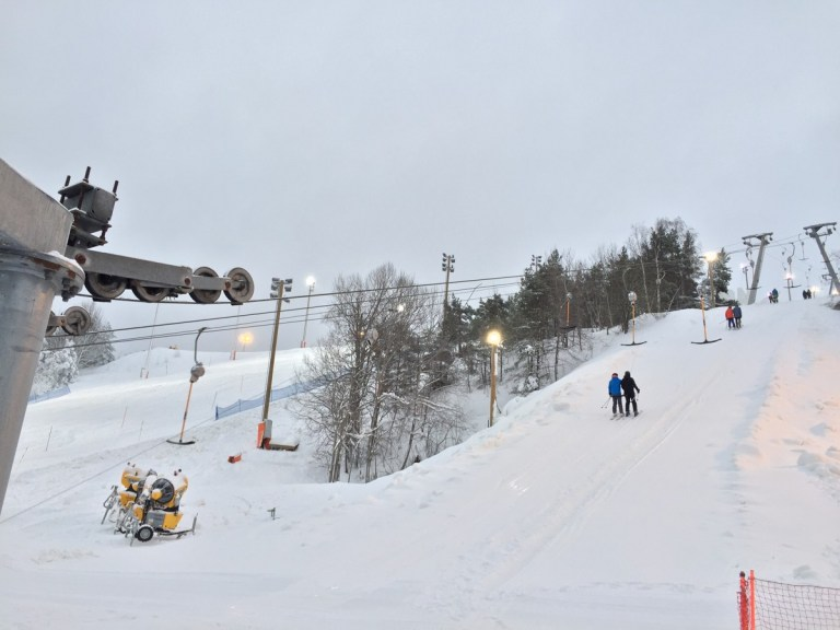 Hammarbybacken - first ski slope