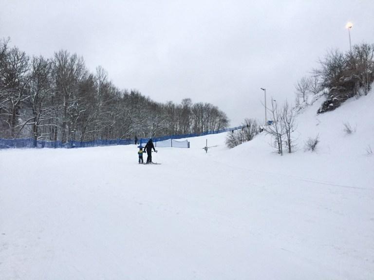 Hammarbybacken - near the beginners slope