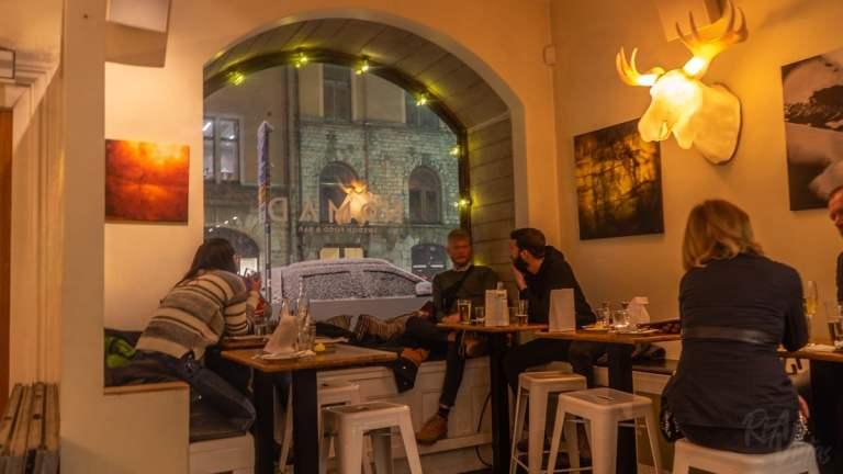 Inside Nomad Swedish Food & Bar - Stockholm