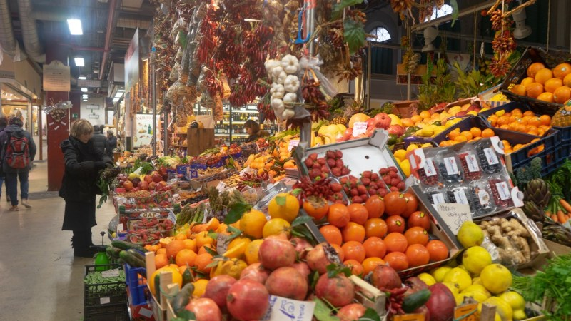 San Lorenzo Market - Florence Italy