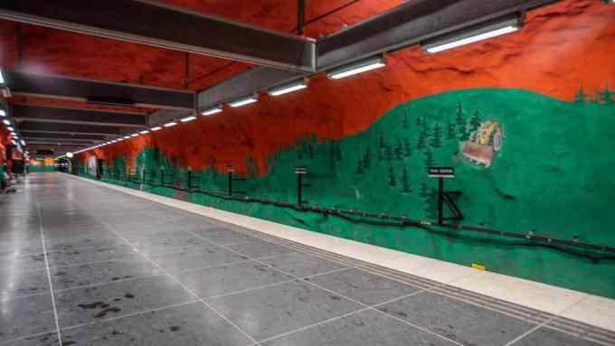 Solna Centrum station Stockholm_RiA Vistas