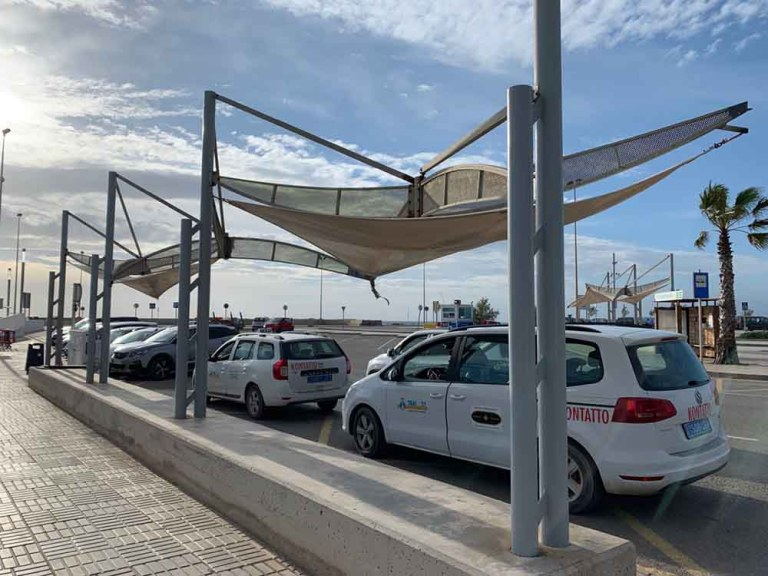 La Savina taxi rank - Formentera