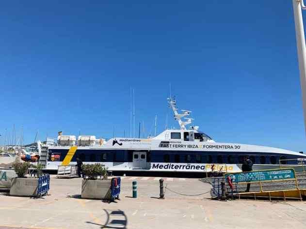 Mediterrania Pitiusa ferry - Formentera_RiA Vistas