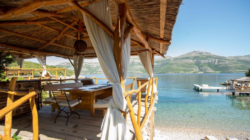 One of the cabanas at BOWA_RiA Vistas