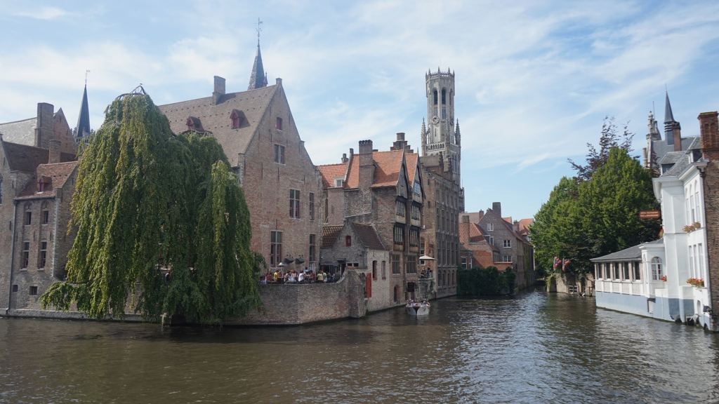 Stunning Rozenhoedkaai - Bruges