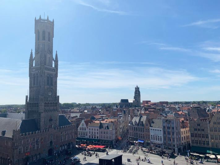 View from Historium - Bruges