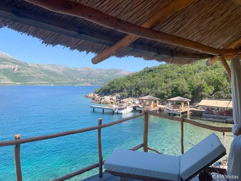 Cabana view - BOWA Restaurant