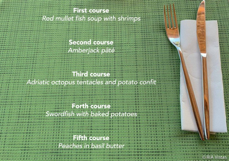 The tasting menu at BOWA Restaurant
