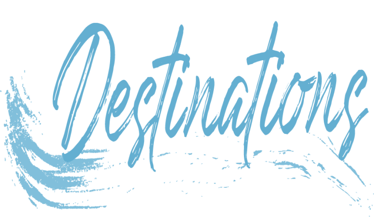 Destinations header