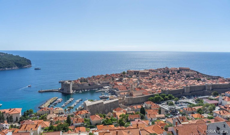 Dubrovnik Town from above_RiA Vistas