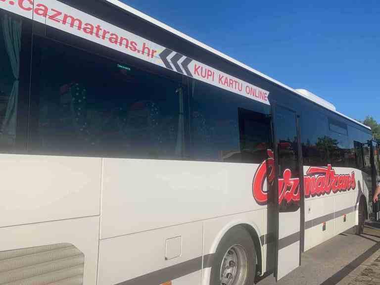 Cazmatrans bus service - Croatia