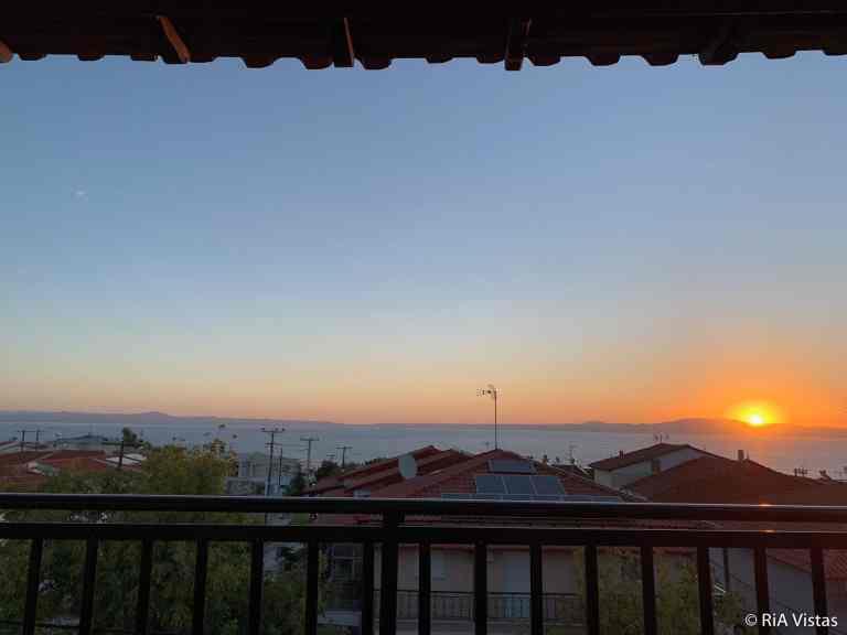Sunrise from my studio at Kokkos brothers - Halkidiki - Kallithea_RiA Vistas