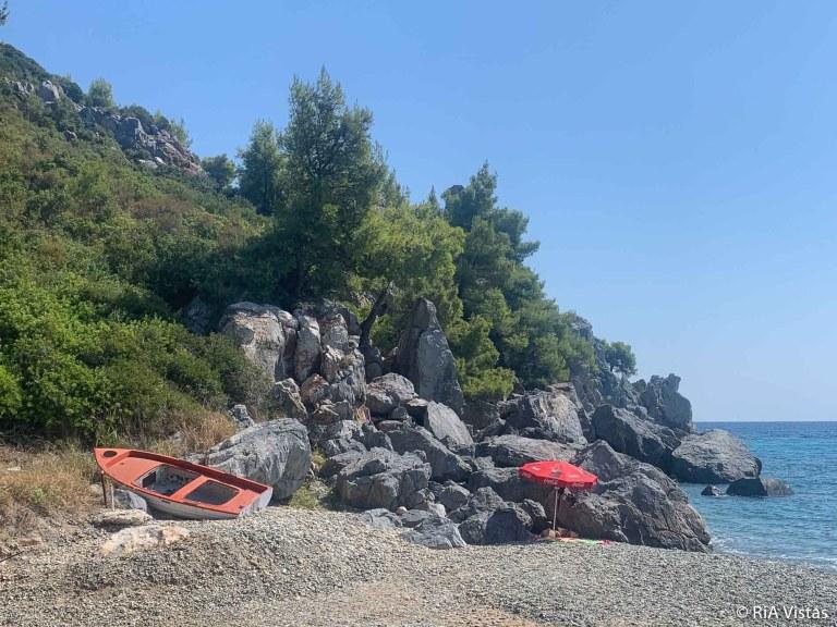 The little cove at St George Beach - Halkidiki_RiA Vistas