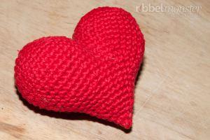 Amigurumi Herzlichstes Herz Häkeln Premium Kostenlose