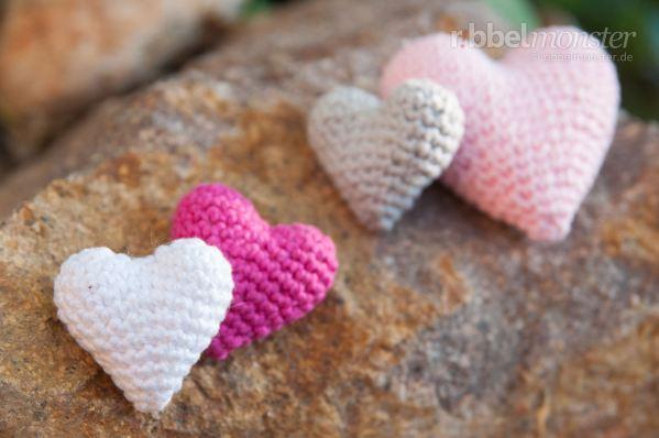 Amigurumi Herz Häkeln Herzilein Premium Kostenlose