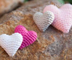 Amigurumi Herz häkeln - Herzilein - Anleitung
