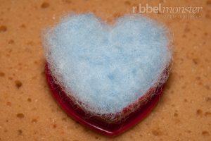 Grundkurs Nadelfilzen Trockenfilzen - Filzen mit Ausstechformen