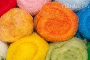 Filzwolle, Wolle zum Filzen, Nassfilzen, Trockenfilzen, Nadelfilzen, Filzen lernen