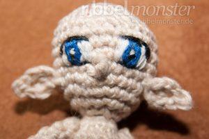 Amigurumi Augen - gestickte Manga Augen