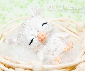 Amigurumi - Minimee Baby Schneeeule häkeln - Dana - Anleitung - Häkelanleitung