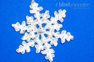 Schneeflocke häkeln - Flosta - kostenlose Anleitung