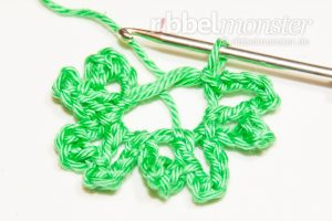 Crochet 4 Leaf Clover - Gli - Crochet Pattern - FOC Tutorial