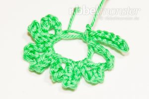 Crochet 4 Leaf Clover - Gli - Tutorial