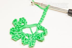 Crochet 4 Leaf Clover - Gli - Tutorial - free crochet pattern