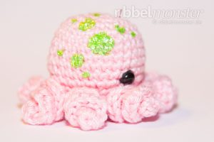 Amigurumi - Baby Oktopus häkeln - Iane - Häkelanleitung - kostenlose Anleitung