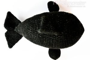 Amigurumi - Orca Wal häkeln - Willy - Häkelanleitung - kostenlose Anleitung