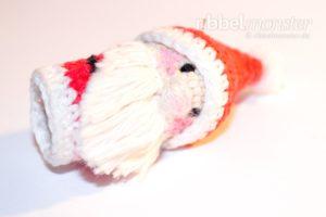Amigurumi - Weihnachtsmann Fingerpuppe häkeln - Anleitung