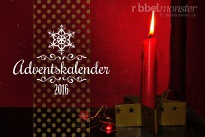 Ribbelmonster Adventskalender 2016
