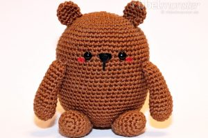 Amigurumi - größten Bär häkeln - Mr. Potato - Anleitung kostenlos