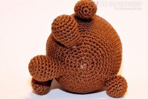 Amigurumi - größten Bär häkeln - Mr. Potato - einfache Häkelanleitung