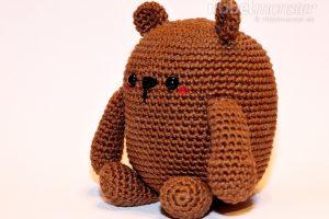 Amigurumi - größten Bär häkeln - Mr. Potato - Häkelanleitung kostenlos