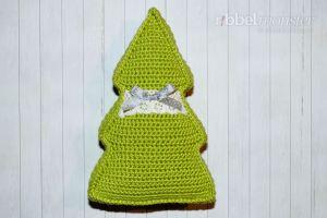 Kleines Weihnachtsbaum Kissen Häkeln Premium Kostenlose