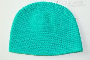 Mütze häkeln - Beanie mit festen Maschen - kostenlose Anleitung