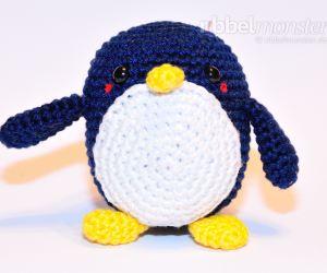 Amigurumi - mittleren Pinguin häkeln - Chubby - einfache Anleitung