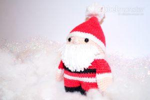 Amigurumi - Weihnachtsmann häkeln - Anleitung - Häkelanleitung kostenlos - gratis