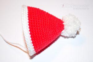 Amigurumi - Weihnachtsmann häkeln - Anleitung kostenlos