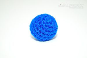 Amigurumi - einfachen winzigen Ball häkeln - kostenlose Häkelanleitung - gratis Anleitung